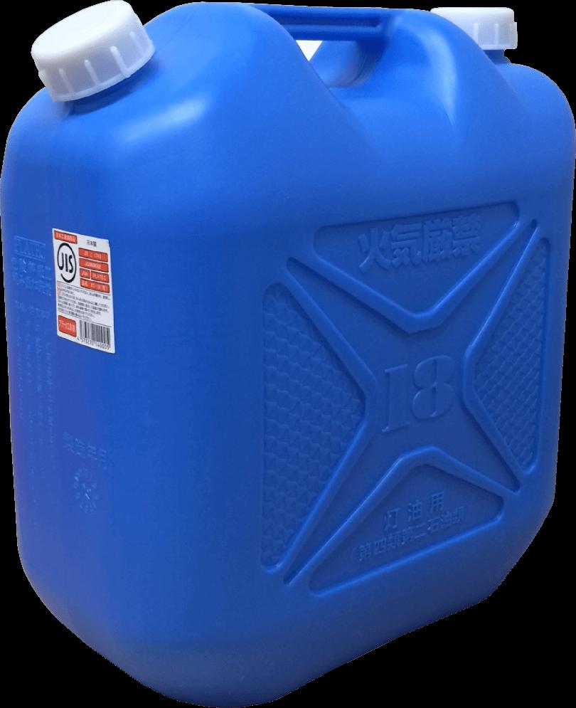 ポリ灯油缶 KT-18 18L